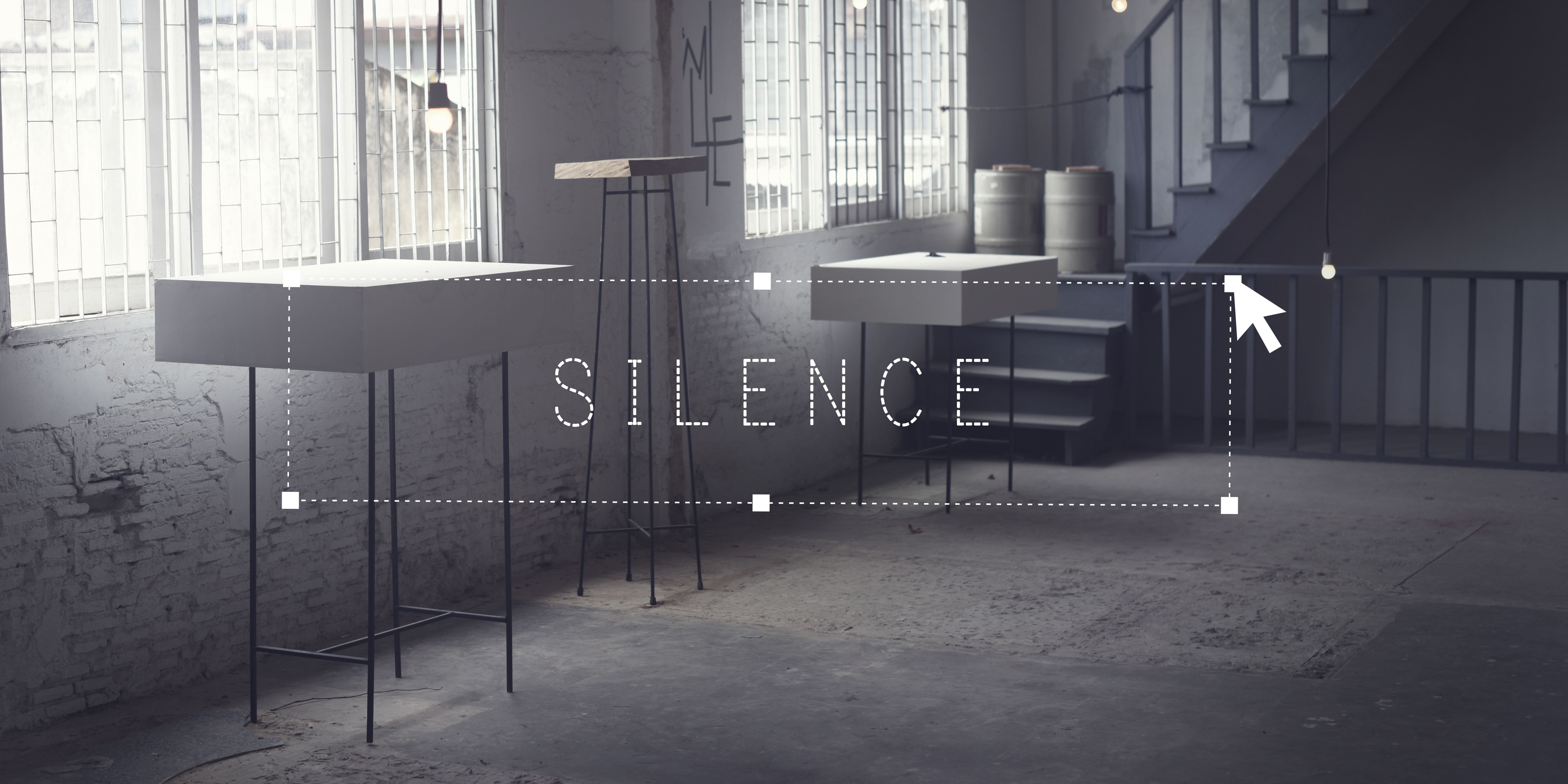Silence Quiet Peaceful Room Interior Concept