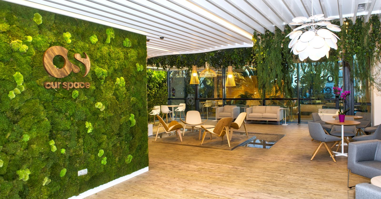 Environmentally Friendly Coworking Spaces