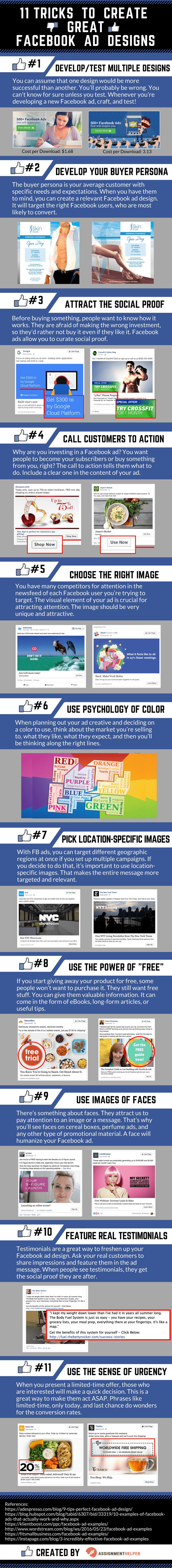 11 Tricks to Create Great Facebook Ad Designs
