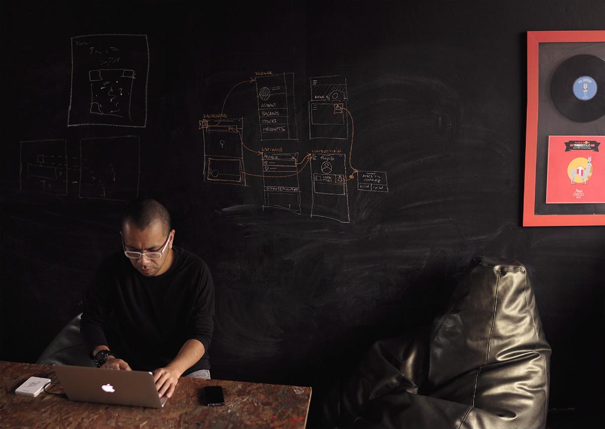 designer coworking space