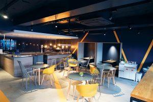 Blink Community's coworking space in Tokyo.