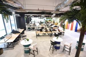 A coworking space in Kuala Lumpur.