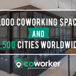 We've Officially Reached 15,000 Coworking Spaces!