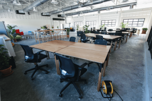 A coworking space in APAC.
