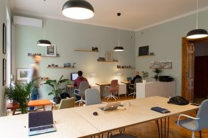 A coworking space in Poland.